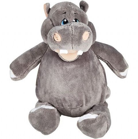 Personalised Hippo Cubbie Teddy